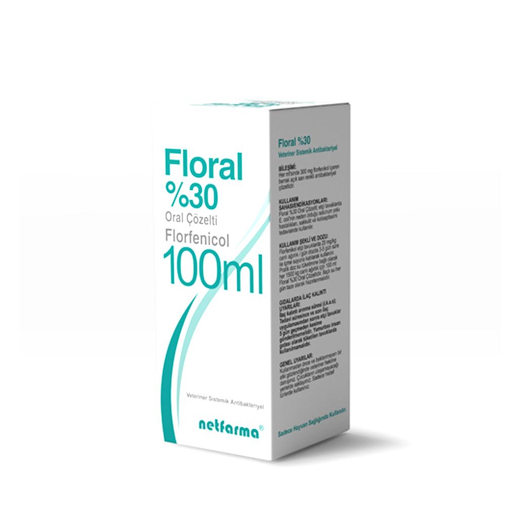 Floral %30 || Barkar Veteriner Ecza Deposu - Kanatlı Veteriner Sağlık Hizmetleri