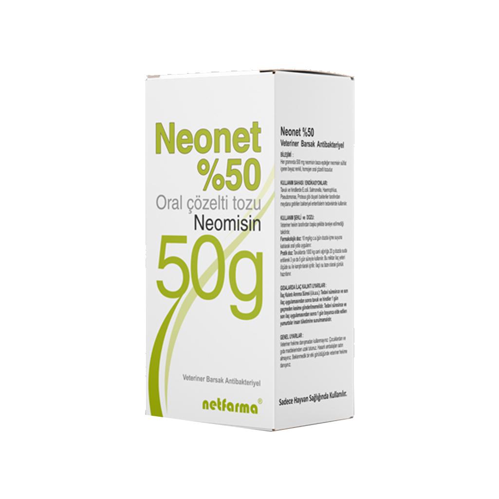 Neonet %50 || Barkar Veteriner Ecza Deposu - Kanatlı Veteriner Sağlık Hizmetleri